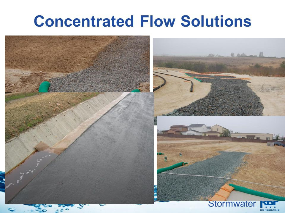 Stormwater Concentrated Flow Solutions