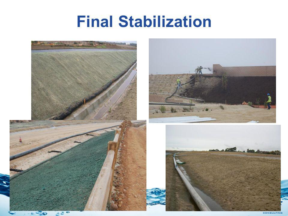 Stormwater Final Stabilization