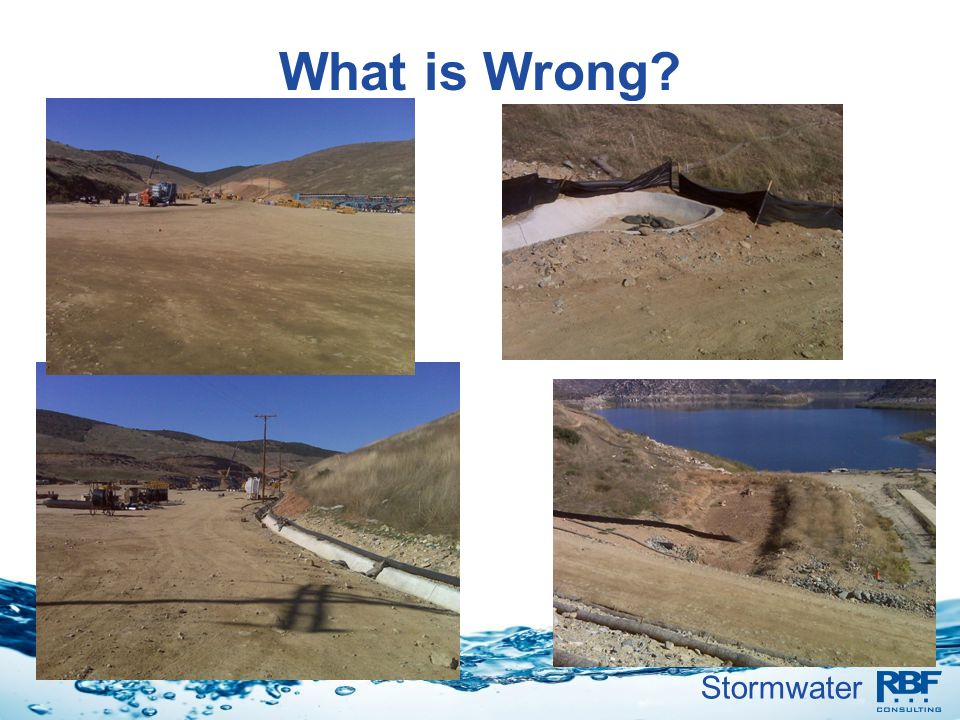 Stormwater What is Wrong?
