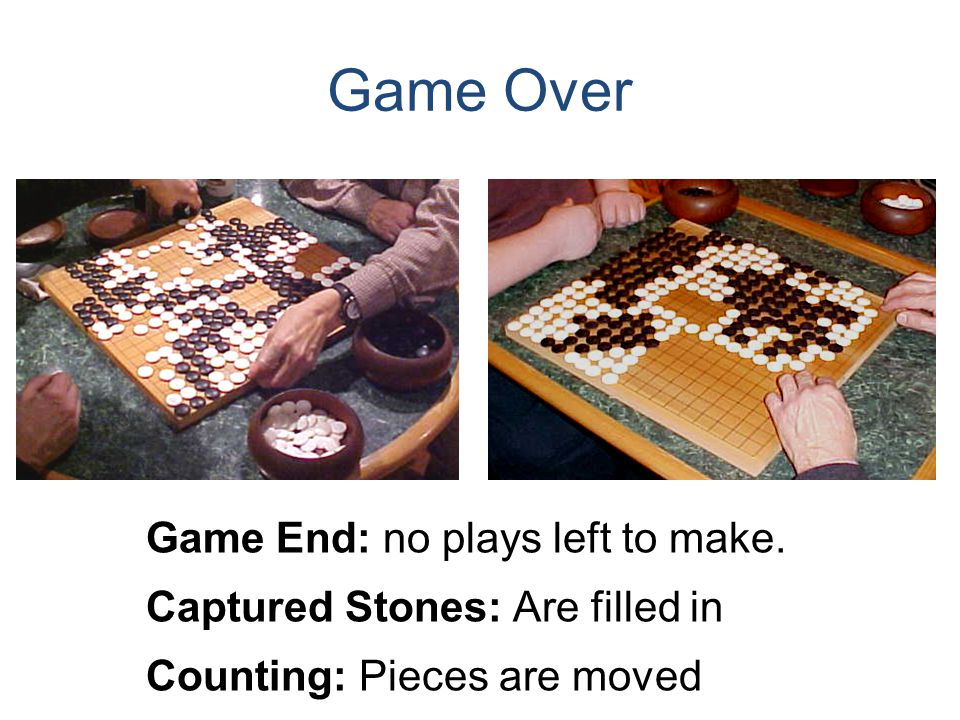 Game End: no plays left to make.