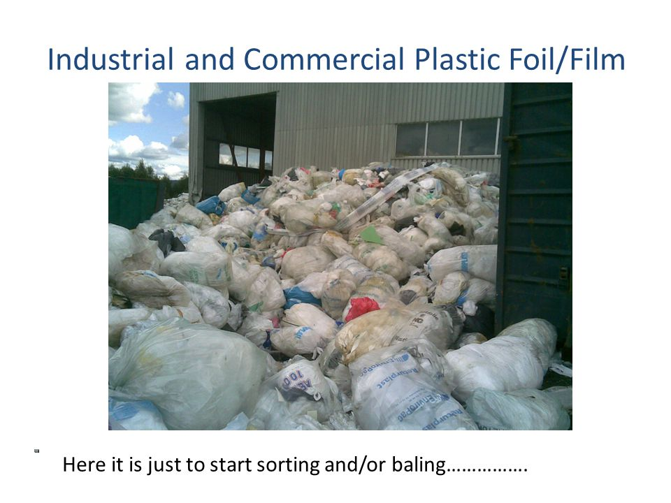 GPN's Plastic Packaging Waste Management Industrial and Commercial Foil/Film NB.