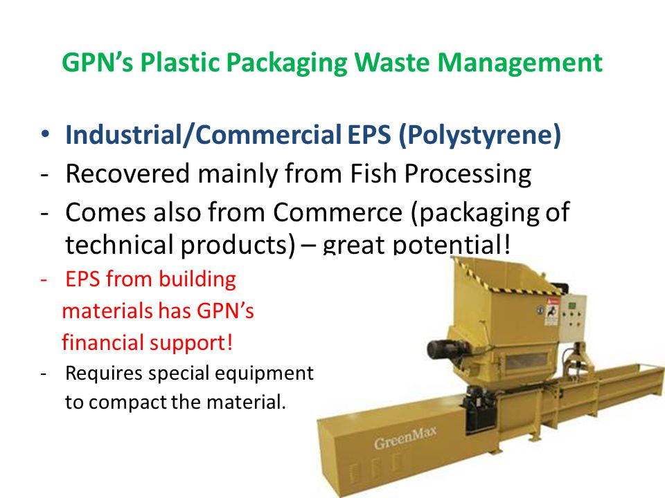 Manually Separated Plastics from Discarded Products is both technically and commercially recoverable.