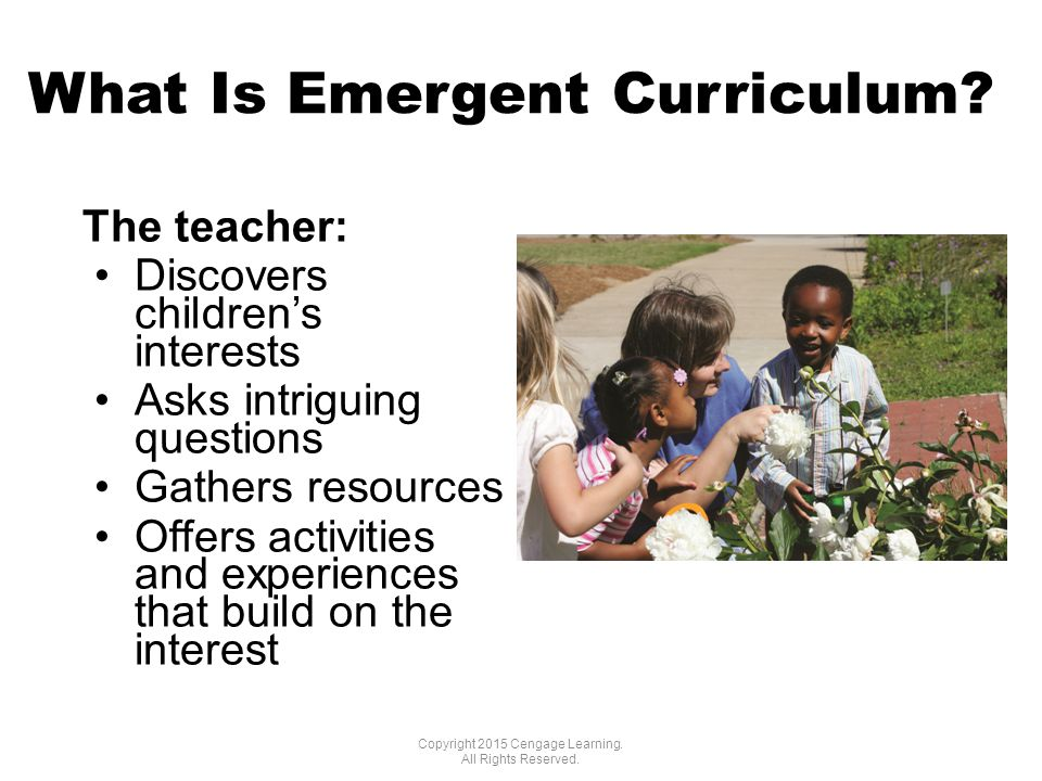 What Is Emergent Curriculum.