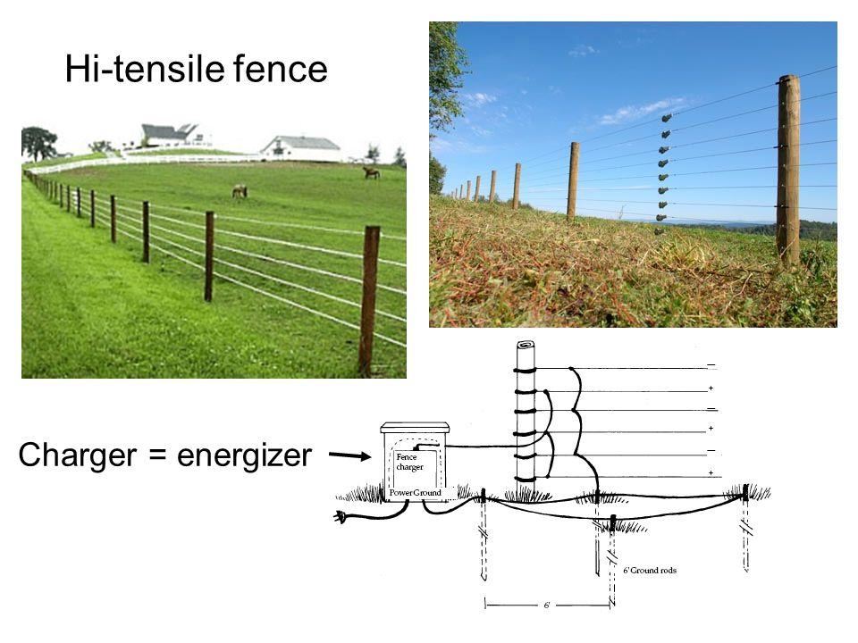 Hi-tensile fence Charger = energizer