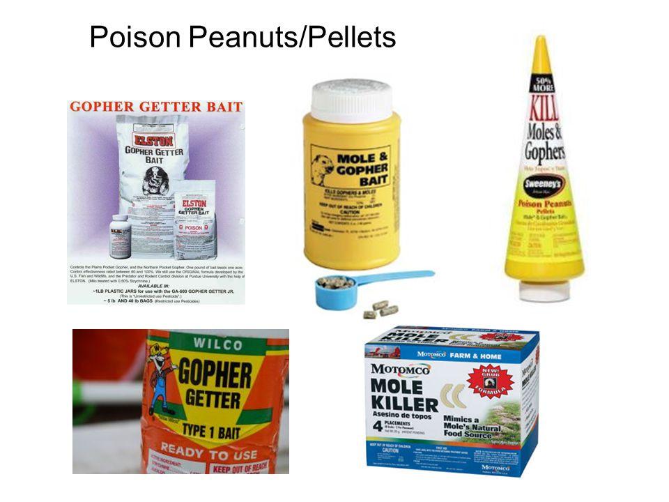 Poison Peanuts/Pellets