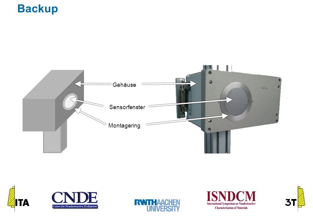 Gehäuse Sensorfenster Montagering