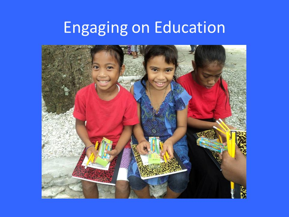 Engaging on Education