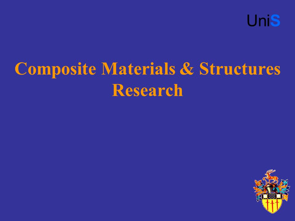 Composite Materials & Structures Research UniS