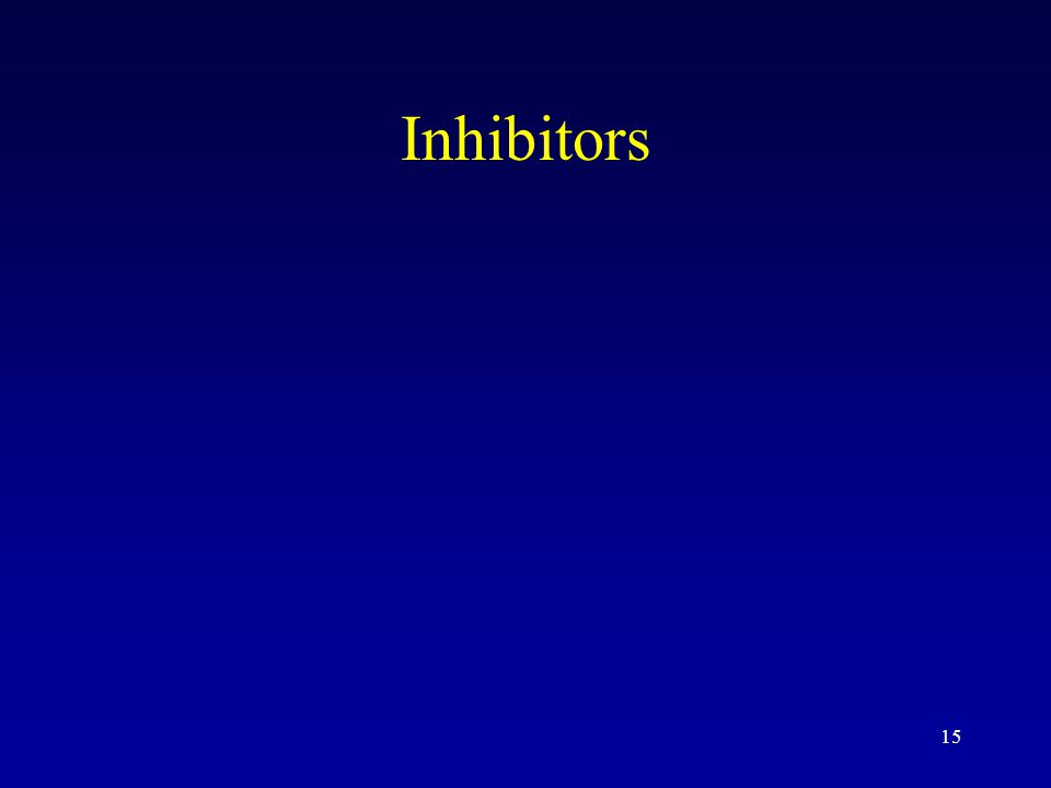 15 Inhibitors