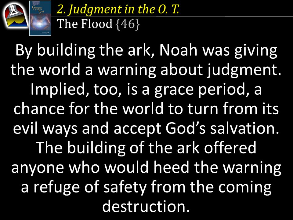 2. Judgment in the O. T.
