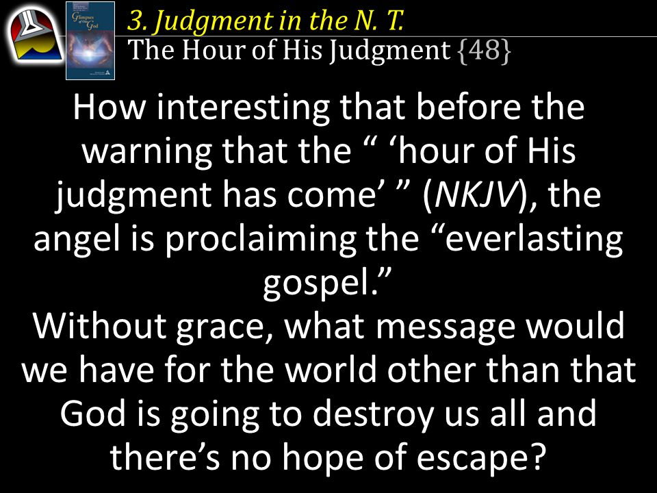 3.Judgment in the N. T.