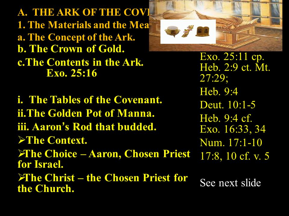  The Christ – the Chosen Priest for the Church. His Rod.