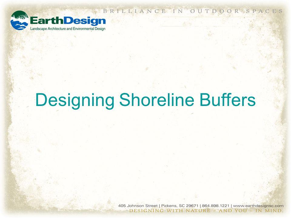 Designing Shoreline Buffers