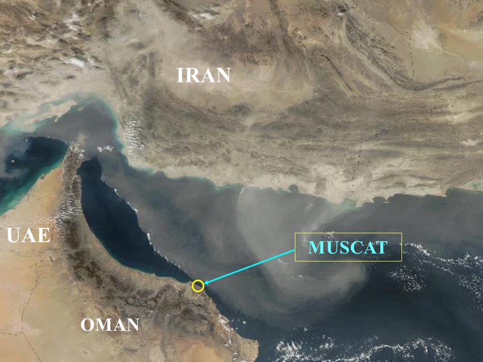 MUSCAT OMAN UAE IRAN