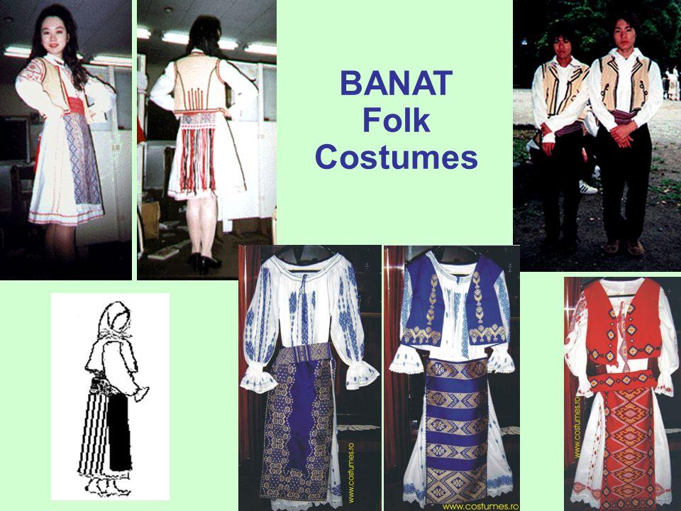 """prof. dr. Daniela Văleanu, Liceul Pedagogic """"Carmen Sylva"""", Timişoara Romanian Folk Costumes: Banat – The Mountain & Hill Area"""