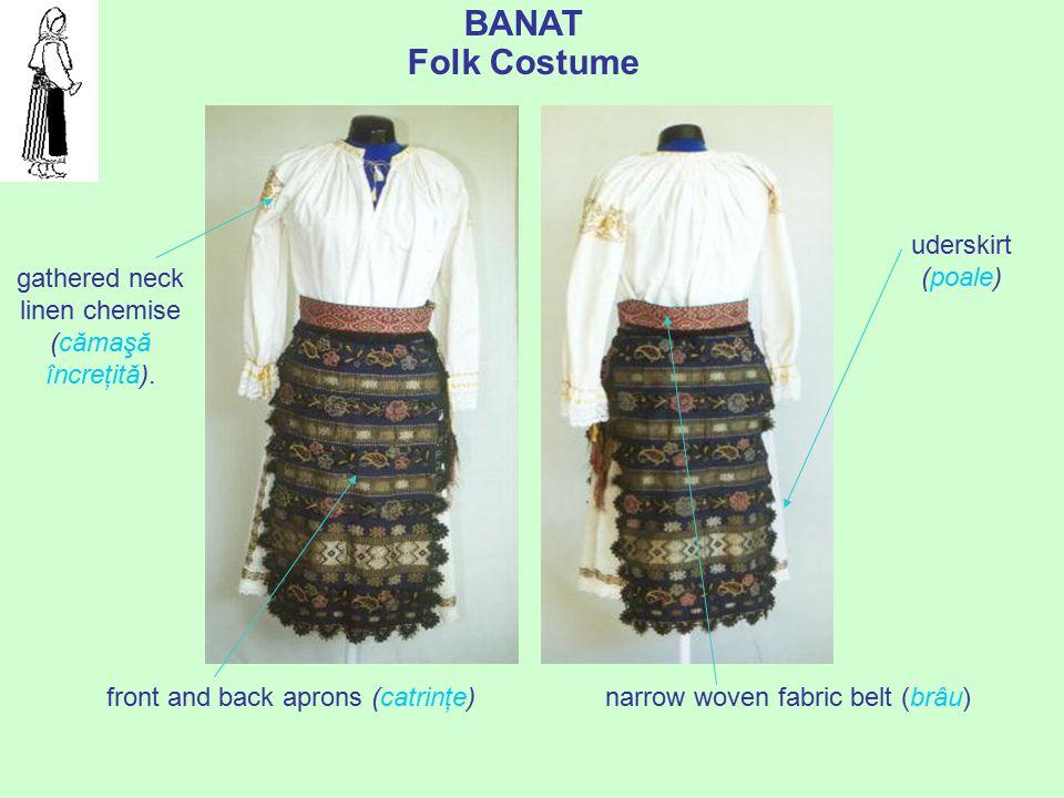 "prof. dr. Daniela Văleanu, Liceul Pedagogic ""Carmen Sylva"", Timişoara Men's costumes from Banat have some common elements. During summer, men used to"