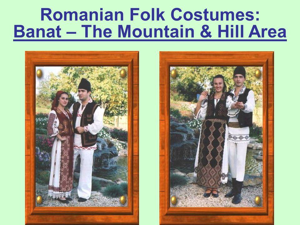 "prof. dr. Daniela Văleanu, Liceul Pedagogic ""Carmen Sylva"", Timişoara Romanian Folk Costumes: Banat – The Plain Area"