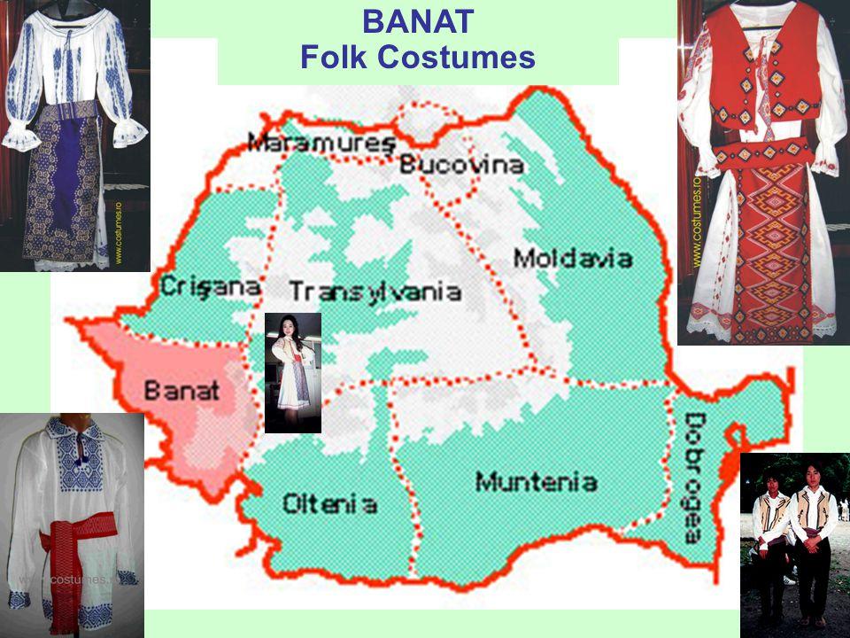 "prof. dr. Daniela Văleanu, Liceul Pedagogic ""Carmen Sylva"", Timişoara BANAT- Folk Costumes"