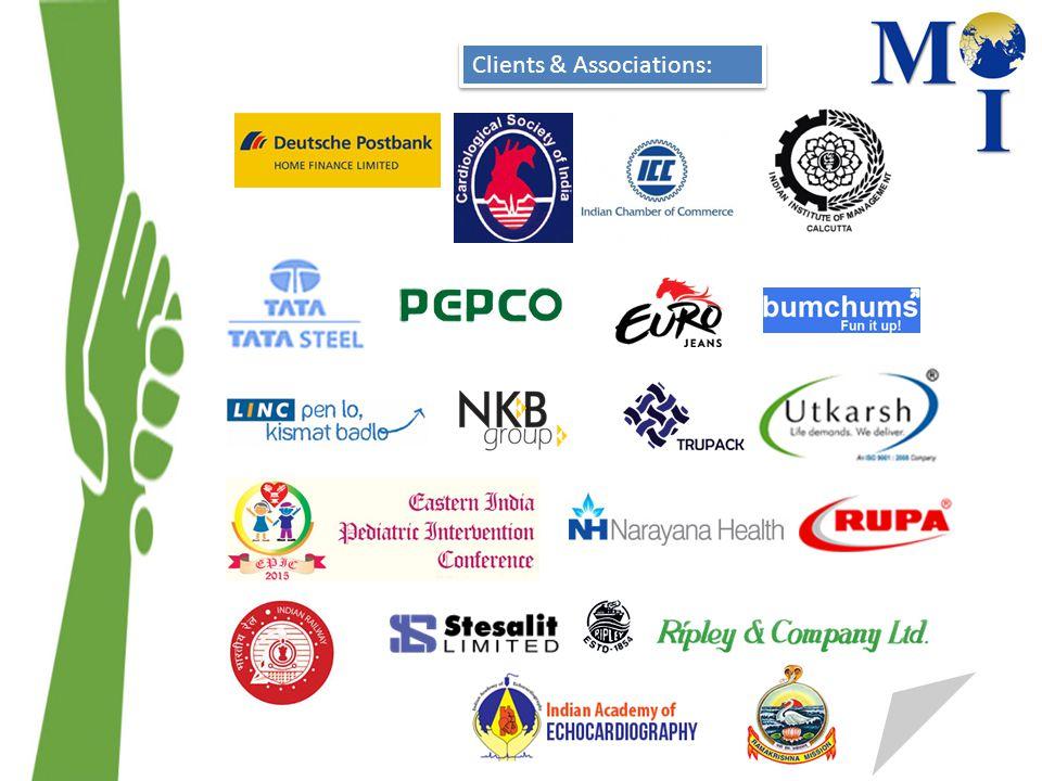 Clients & Associations:
