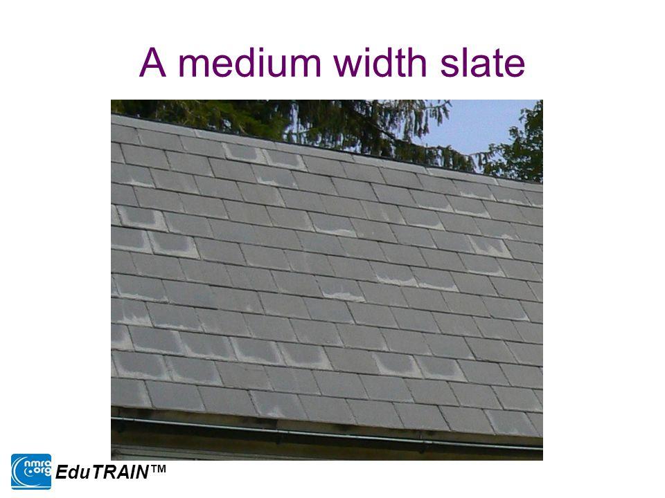 A medium width slate EduTRAIN™