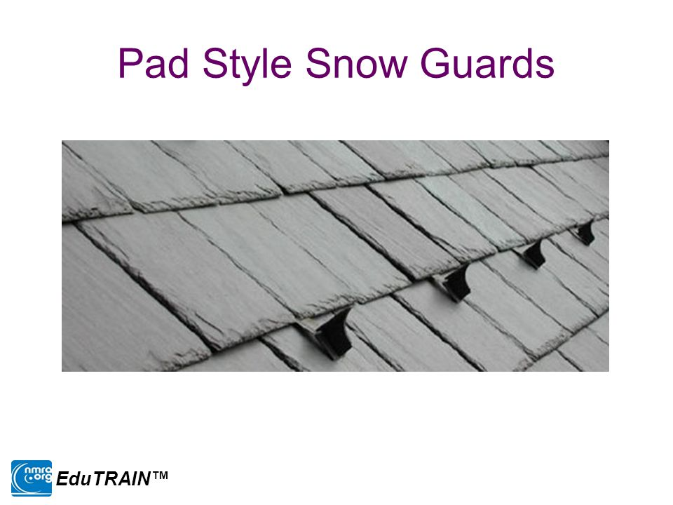 Pad Style Snow Guards EduTRAIN™