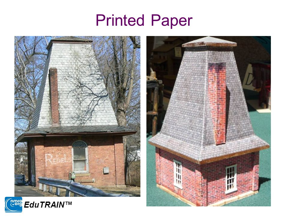 Printed Paper EduTRAIN™