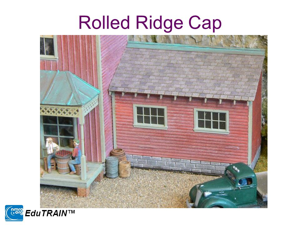 Rolled Ridge Cap EduTRAIN™
