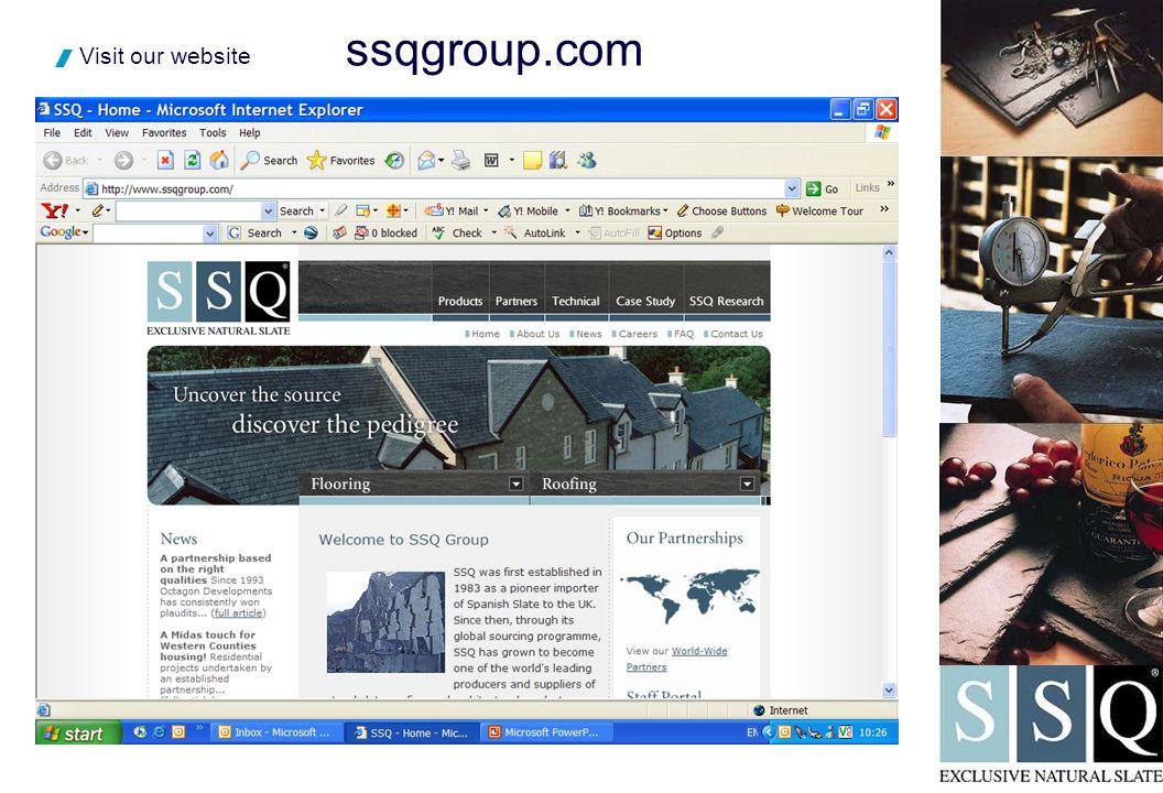 ssqgroup.com  Visit our website