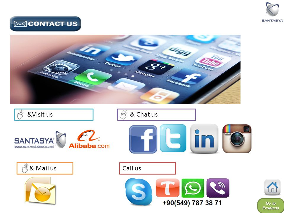 Go to Products Go to Products & Chat us & Mail us &Visit us Call us
