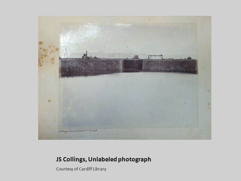 JS Collings, Unlabeled photograph Courtesy of Cardiff Library