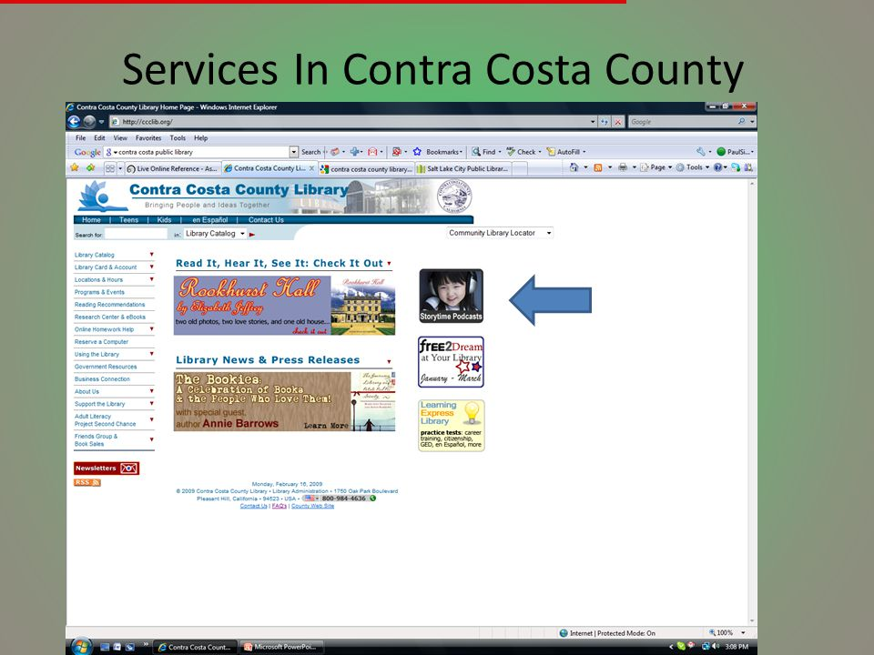 Services In Contra Costa County