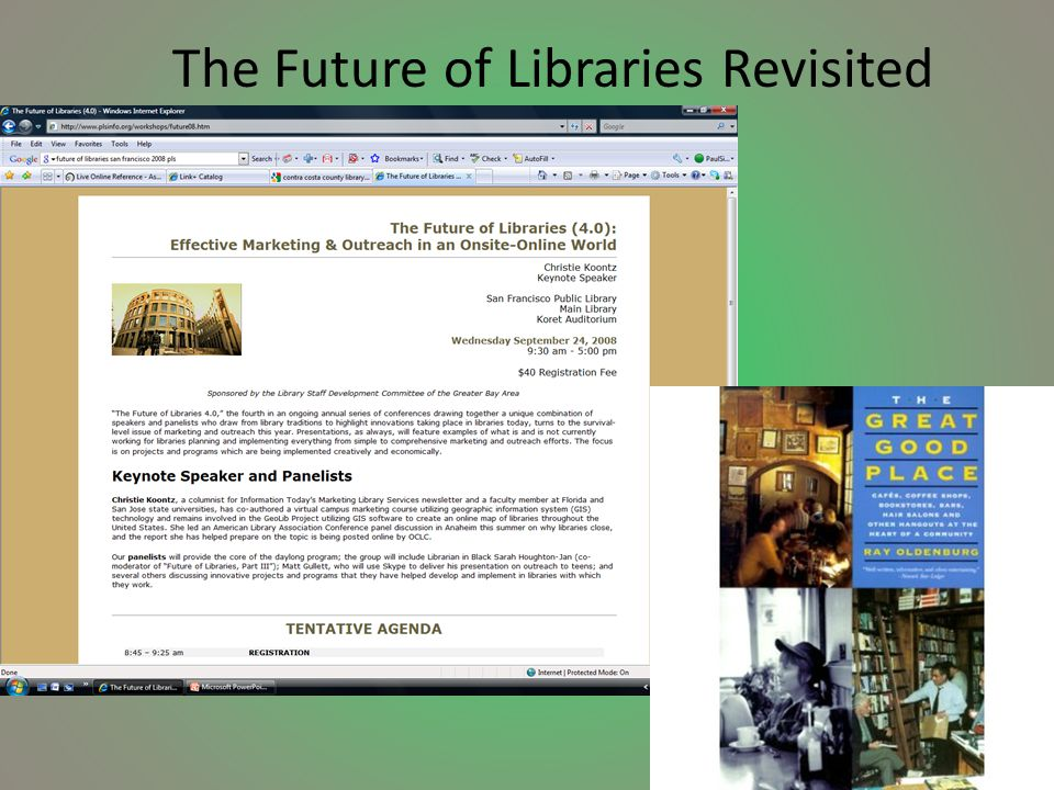 The Future of Libraries Revisited