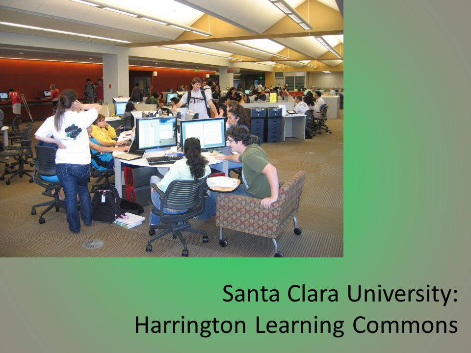Santa Clara University: Harrington Learning Commons