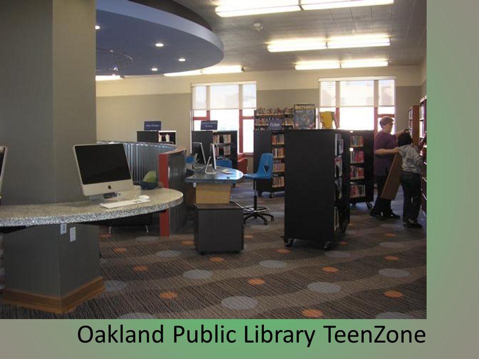 Oakland Public Library TeenZone