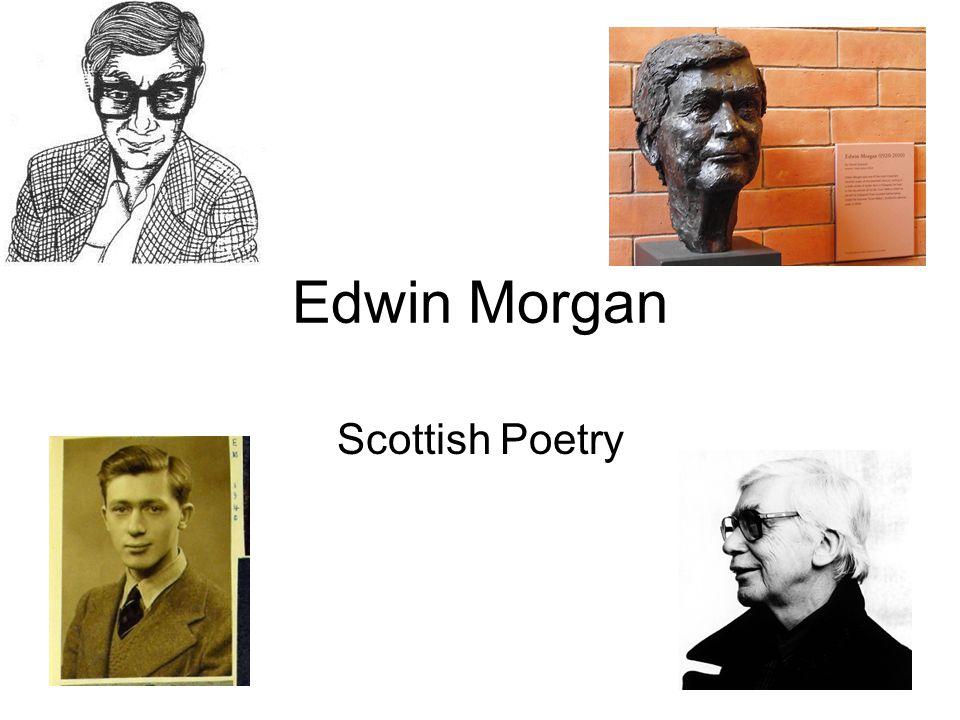 Edwin Morgan Scottish Poetry