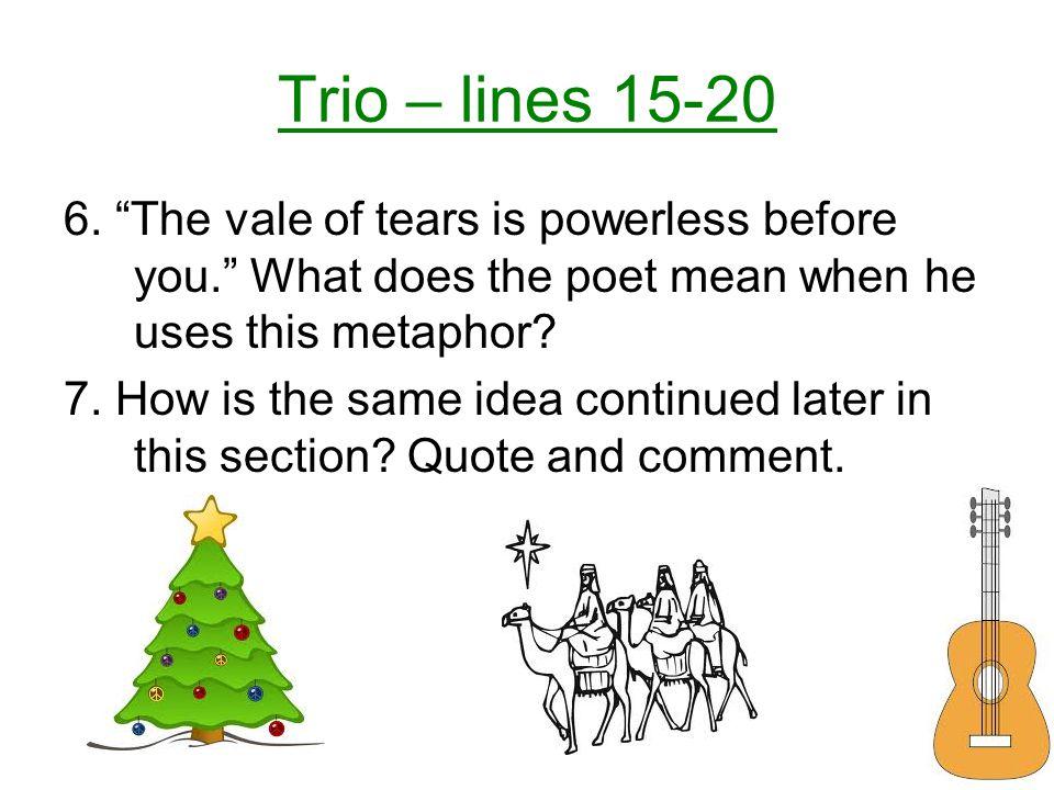 Trio – lines 15-20 6.