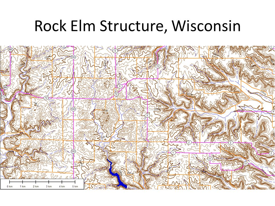 Rock Elm Structure, Wisconsin