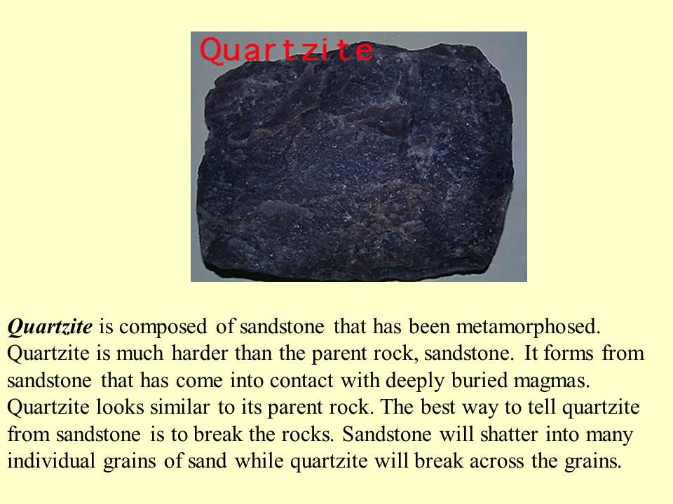 Gneiss is a high grade metamorphic rock. This means that gneiss has been subjected to more heat and pressure than schist. Gneiss is coarser than schis