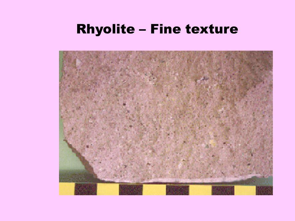 Granite – coarse texture