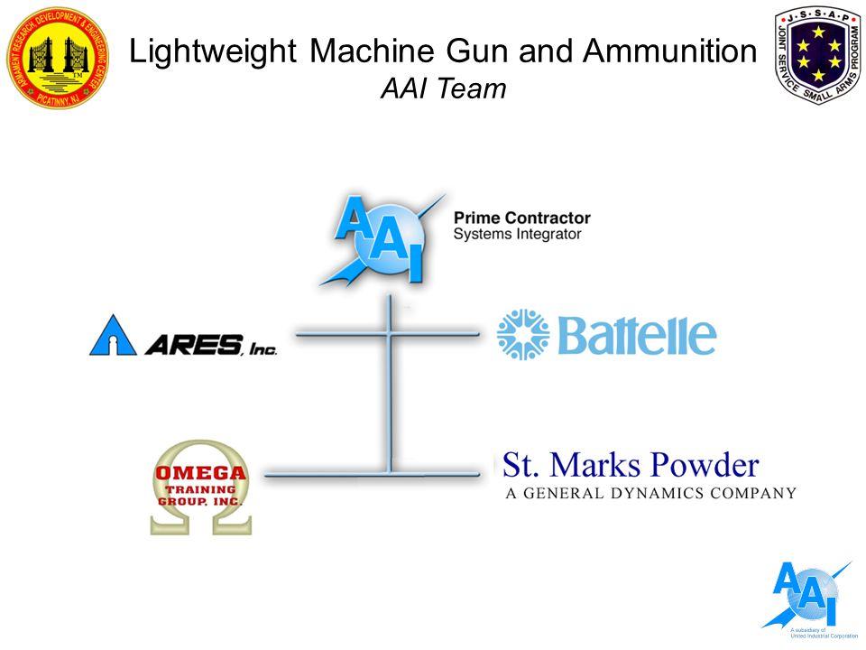 Lightweight Machine Gun and Ammunition AAI Team