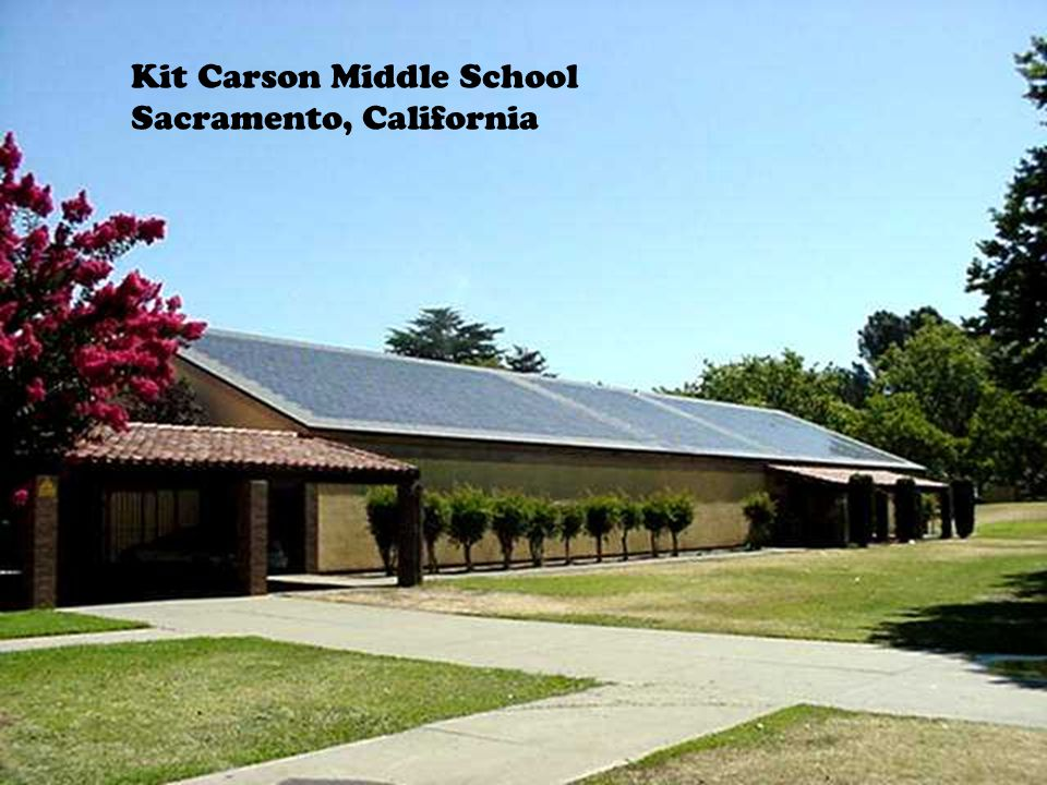 Kit Carson Middle School Sacramento, California