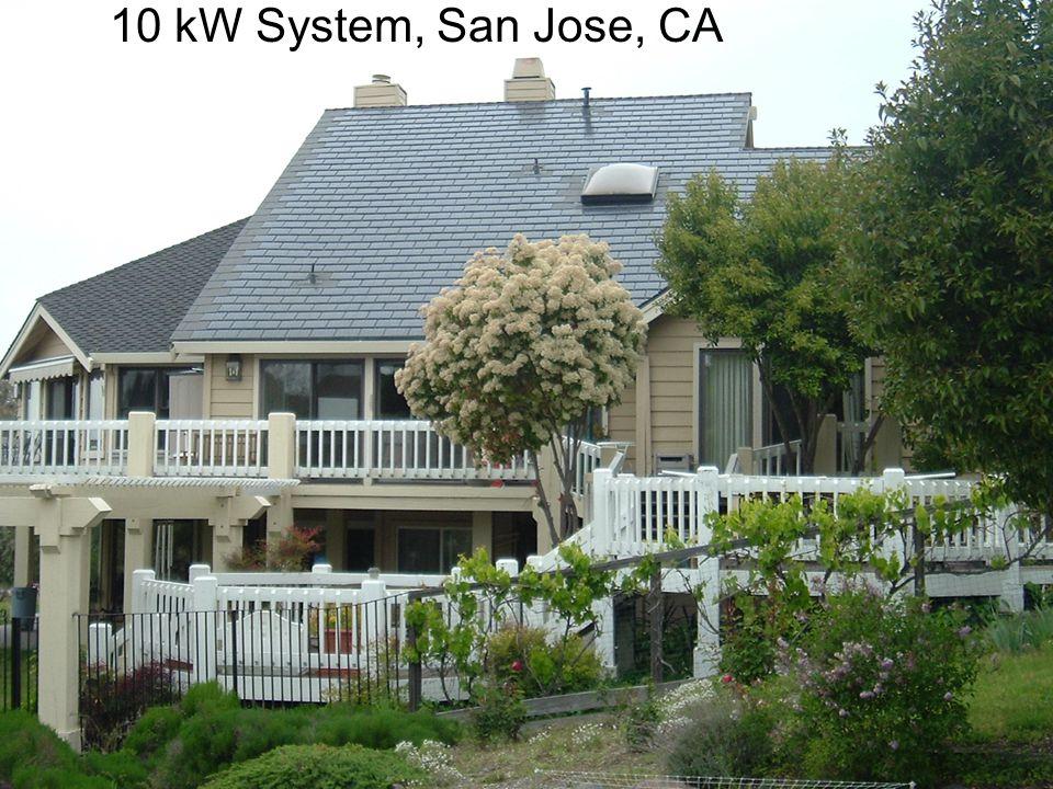 10 kW System, San Jose, CA
