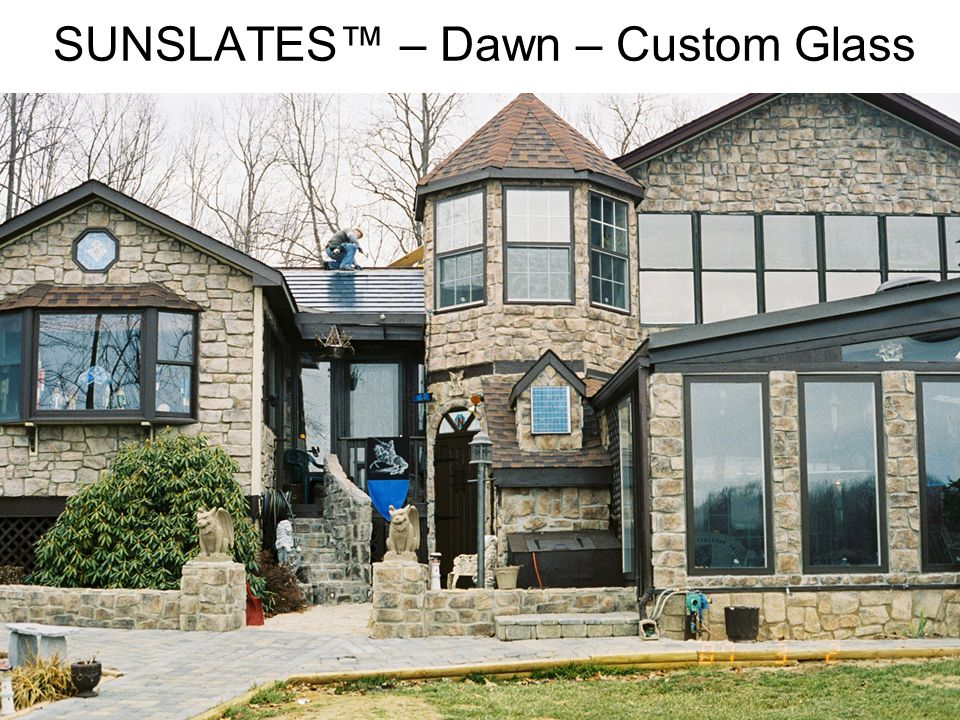 SUNSLATES™ – Dawn – Custom Glass
