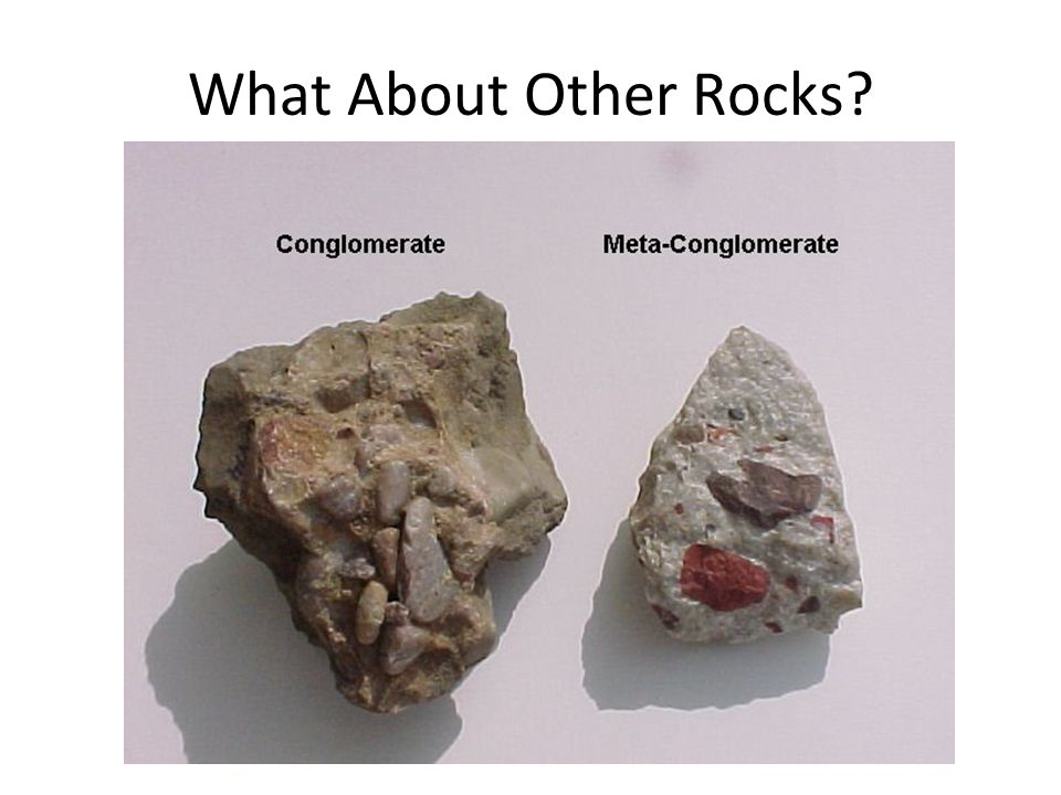 What About Other Rocks?