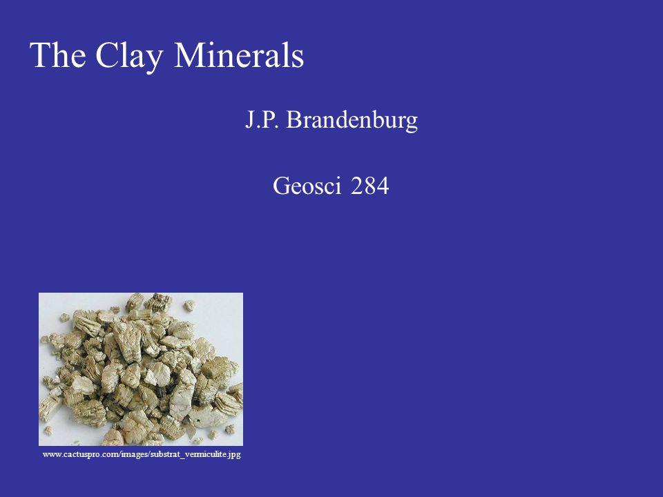 The Clay Minerals J.P. Brandenburg Geosci 284 www.cactuspro.com/images/substrat_vermiculite.jpg