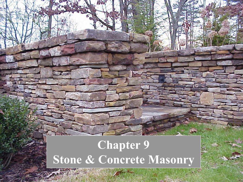 2 Chapter 9 Stone & Concrete Masonry