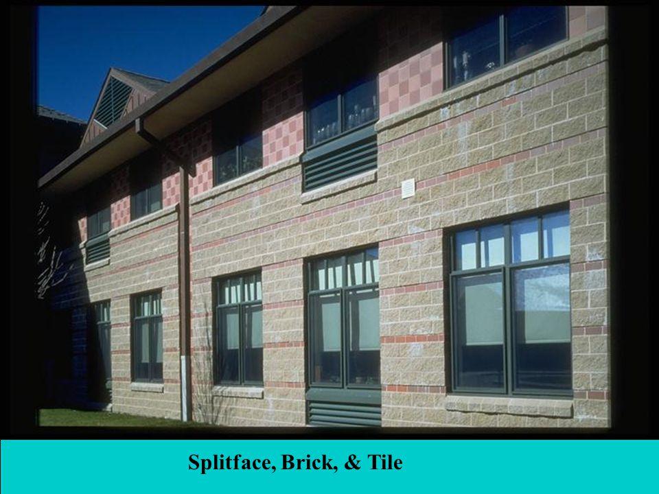 38 Splitface, Brick, & Tile