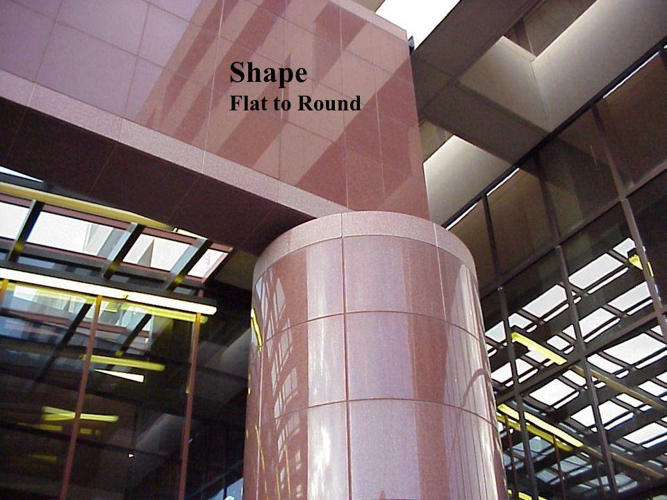 8 Shape Flat to Round