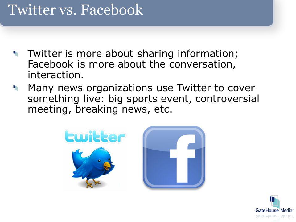 Twitter vs.