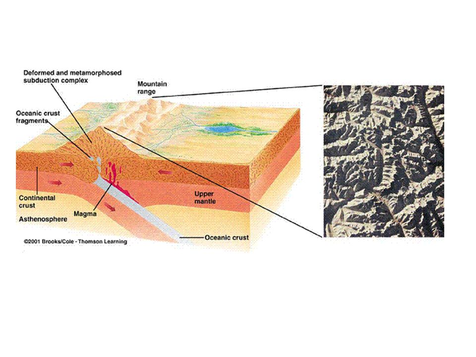 II. Types of Metamorphism A. Contact B. Regional C. Dynamic along fault zones